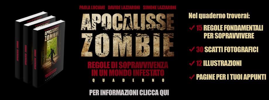 quaderno di sopravvivenza all'apocalisse zombie